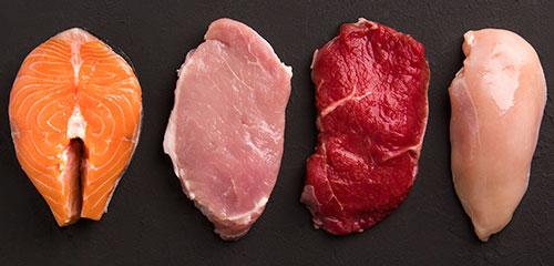 clinica-sorias-alimentos-que-pueden-dañar-dientes-carne-y-pescado